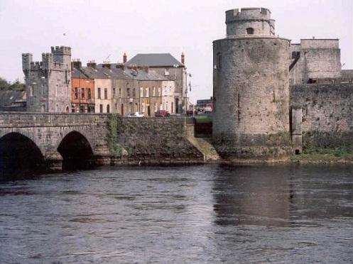 Visita al Castillo del Rey Juan, Limerick