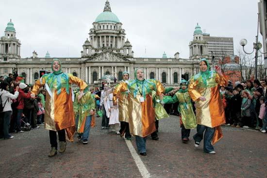D�a de San Patricio en Belfast