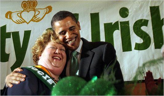 El irlandés Obama