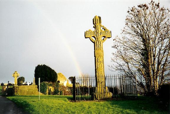 Cruz celta en Irlanda