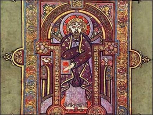 El Libro de Kells, tesoro nacional de Irlanda