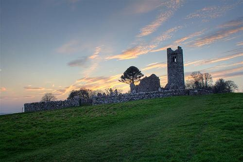 La Colina de Slane, lugar mítico de Irlanda
