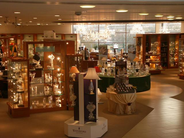 Fábrica de cristal en Waterford