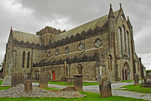 La Catedral de Saint Canice en Kilkenny