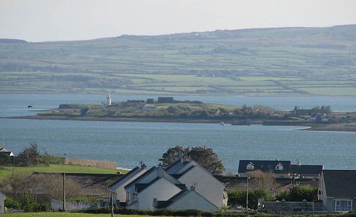 La isla de Scattery al fondo