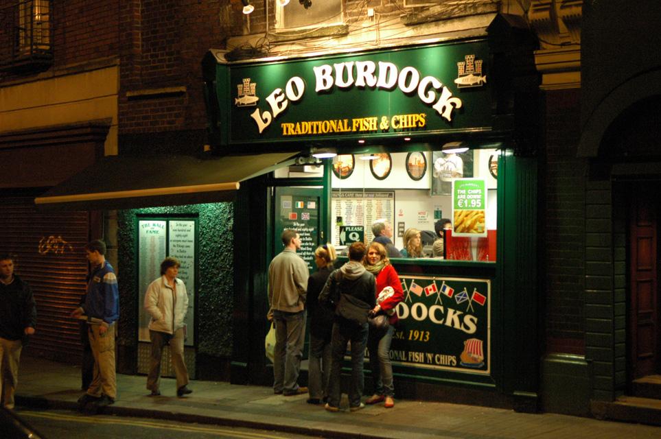 Leo Burdocks en Dublin