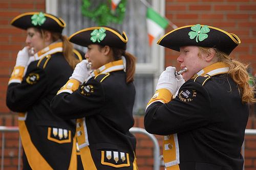 Fiestas de San Patricio en Dublin