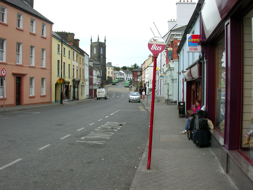 Castlebar, el camino de las esculturas
