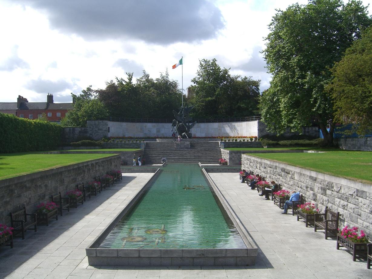 Jardines del Recuerdo en Dublín