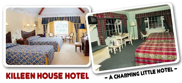 Killeen House, alojamiento y golf en Killarney