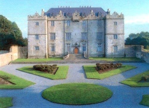 El castillo y los jardines de Portumna en Galway