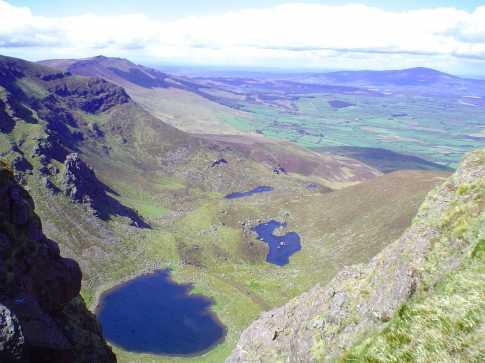 Nire Valley desde las Montañas Comeragh