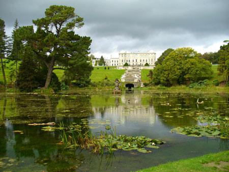 Powerscourt Gardens, un delicioso paseo