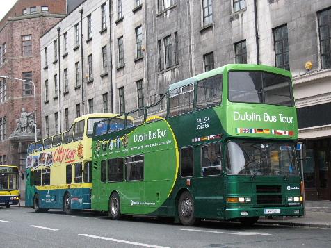 Bus turistico en Dublin