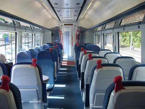 Interior de los trenes NIR