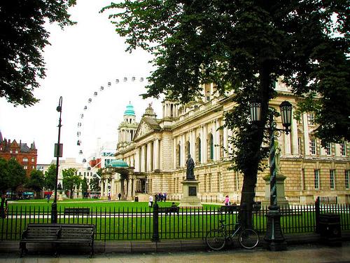 Una visita de domingo a Belfast