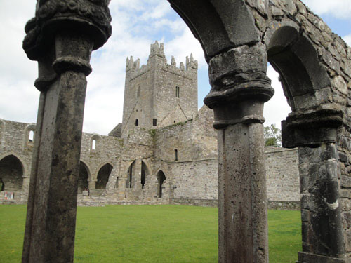 Las ruinas de la Abadía Jerpoint
