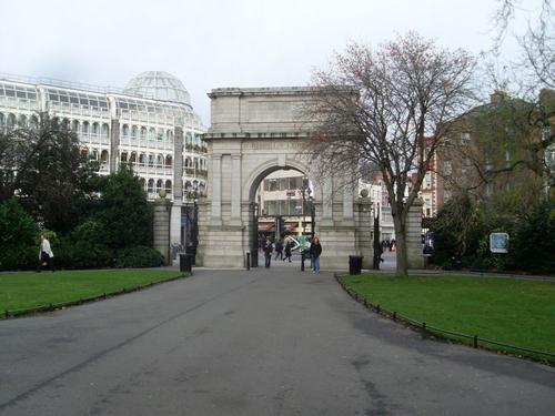Arco de Fusileros en Dublin