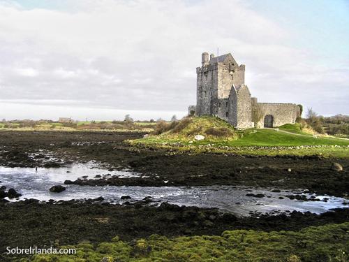 Mapa de los principales castillos de Irlanda