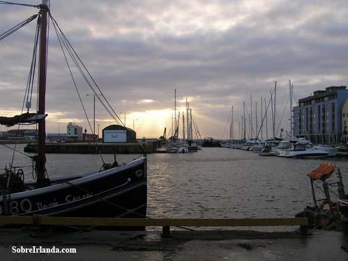Galway puerto marinero