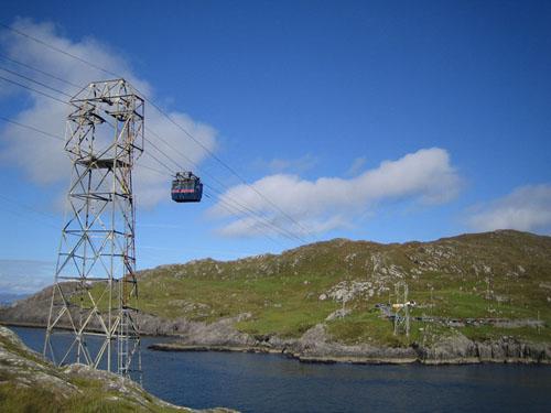 La isla Dursey y el único cablecarril de Irlanda