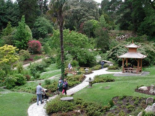 Visitar cuatro jardines puramente irlandeses