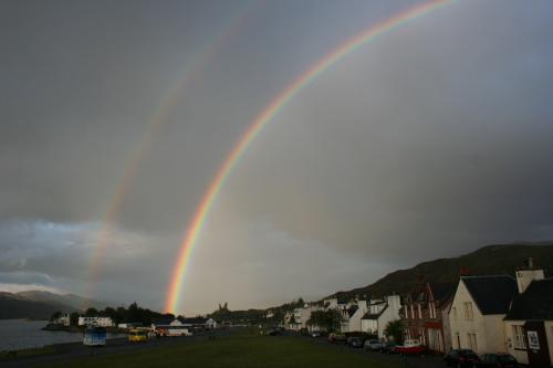 La leyenda irlandesa sobre el arco iris