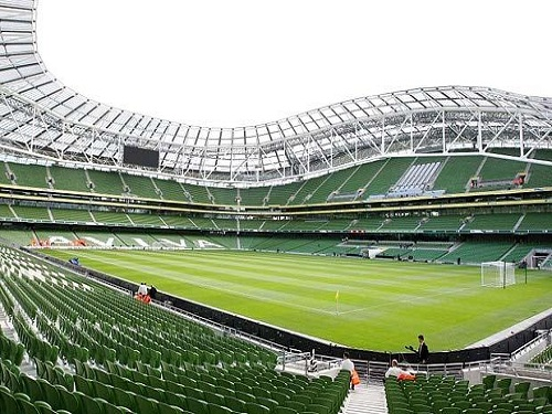 El Estadio Aviva en Dublín, visita imperdible