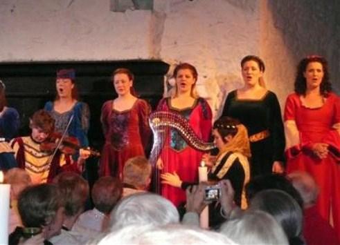 Banquete medieval en el Castillo de Bunratty