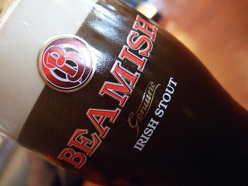 Beamish, la típica cerveza de Cork