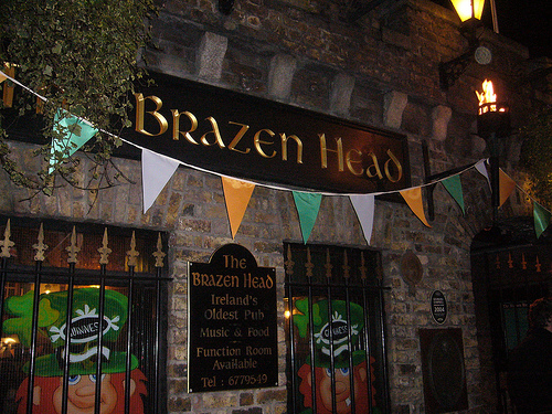 The Brazen Head, el pub mas antiguo de Irlanda