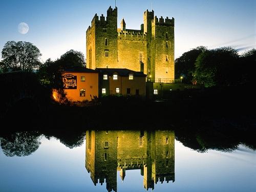 Visitando algunos castillos de Irlanda