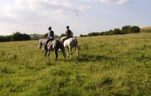 Pasear a caballo por Irlanda