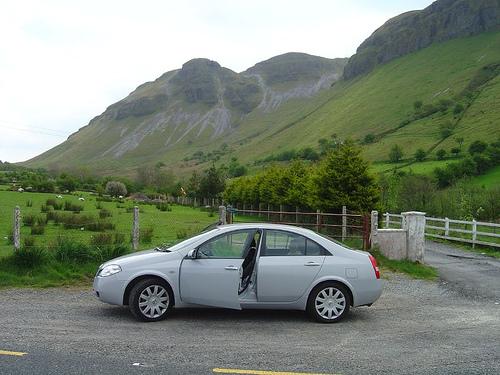Alquilar un coche en Irlanda