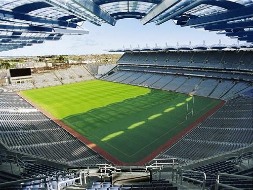 Croke Park, sede del fútbol gaélico irlandés