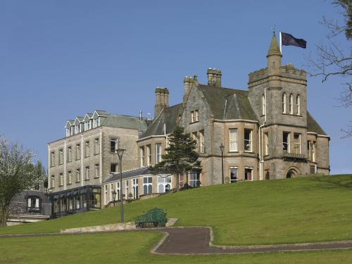 Estancia fantasmal en un castillo irlandés