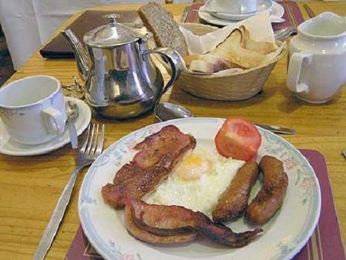 Cómo se prepara un desayuno en Irlanda