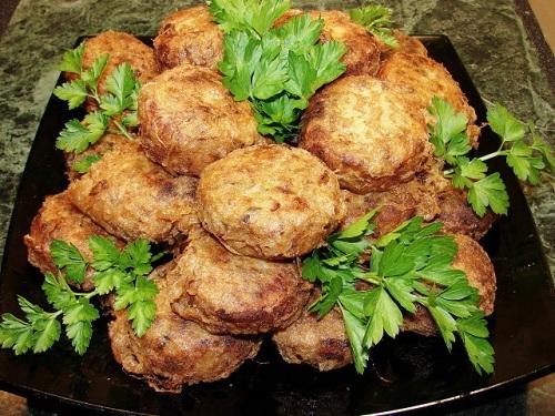 Fried Potato Farls, típico en el desayuno irlandés