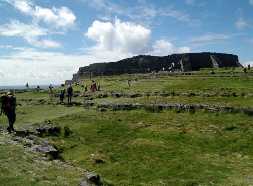 Visitar Dun Aegus, fortaleza en las Islas Aran