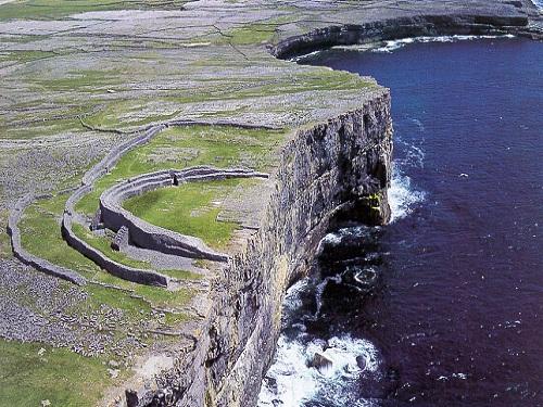 Dún Aengus, fuerte prehistórico en las Islas Arán