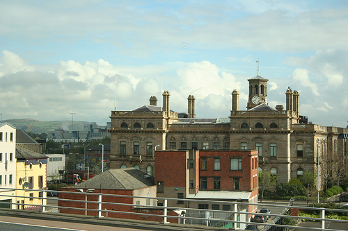 El fantasma de la fábrica de lino de Belfast