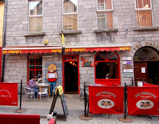 Restaurante Fat Freddy en Galway