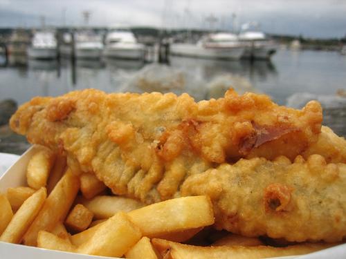 Beshoff, el creador del fish and chips