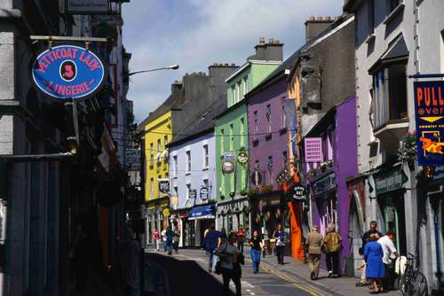 Primer día de turismo en Galway