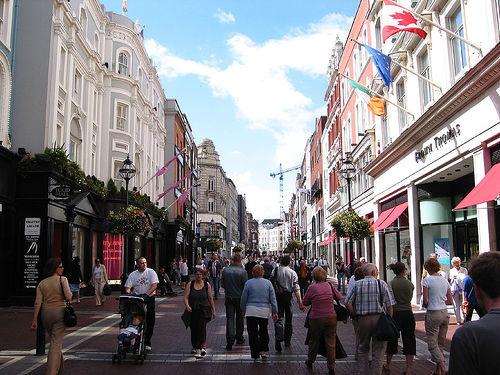 Grafton Street en Dublin