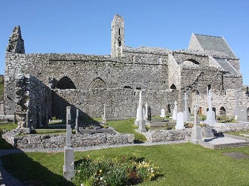Abadia de Corcomroe, al norte de Burren