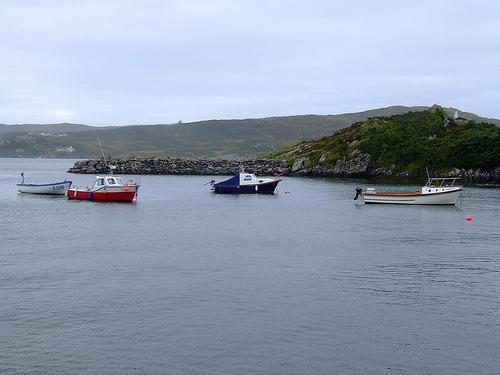 La Isla de Sherkin, placer en el condado de Cork