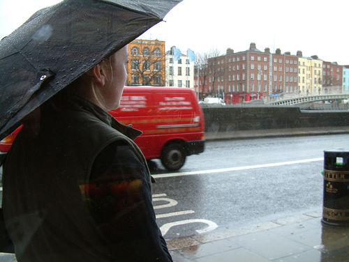 Lluvia en Irlanda