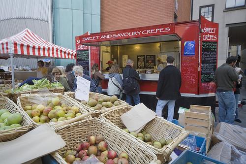 Mercado en Dublin