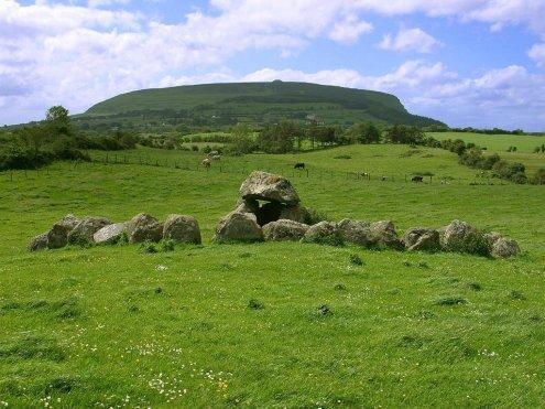 La montaña Knocknarea, en el Condado de Sligo